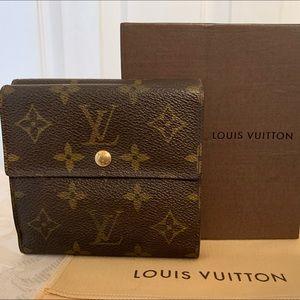 Louis Vuitton Authentic Portefeiulle Elise Wallet